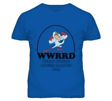 What Would Roger Ramjet Do Retro Cartoon Faded Look T Shirt
