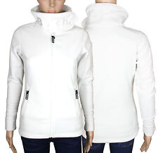 Bench Funnel Neck E Damen Frauen Fleece Jacke Creme Gr.XS-S-M-L-XL