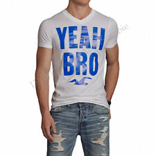 Hollister by Abercrombie Men Clobberstones White Seagull T-shirt - Free $0 Ship