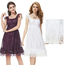 Ever Pretty Short Lace Bridesmaid Cocktail Casual Summer Women Dresses 02713