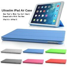 ULTRA THIN MAGNETIC SMART CASE COVER & BACK CASE FOR NEW APPLE IPAD AIR IPAD 5