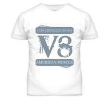1970 Chevelle Ss V8 Muscle Car Faded T Shirt