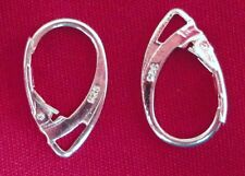 Wholesale_Quality .925 Stamped Sterling Silver Leverback French Hook Ear Wires