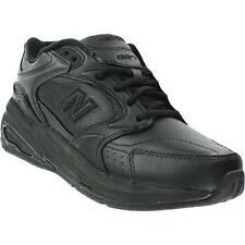 New Balance WW927 Black Rollbar Diabetic Walking Leather Stability Womens Shoes