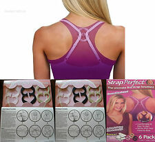 STRAP PERFECT CONCEAL BRA STRAPS ADD CUP SIZE INSTANTLY ULTIMATE STRAPLESS NEW