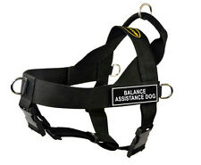 DT Universal Dog Harness with Velcro Patch BALANCE ASSISTANCE DOG