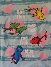 """Dr. Seuss """"1 Fish, 2 Fish, Red Fish, Blue Fish""""  T-shirt  for Girls 2/3T NWT"""