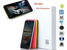 "5"" inch MTK6582T Quad Core GPS 13MP Dual Camera 3G Dual SIM Andriod Mobile Phone"