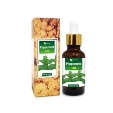 PEPPERMINT OIL 100% NATURAL PURE UNDILUTED UNCUT ESSENTIAL OIL 5ML TO 100ML