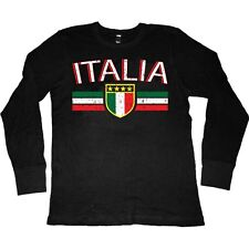 Italy World Cup Italia Soccer Flag Colors National Pride Team Game Men's Thermal
