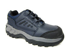 Safety Shoes Steel Toe Mens Totec Sport Lace Up Cap 2982 Blue