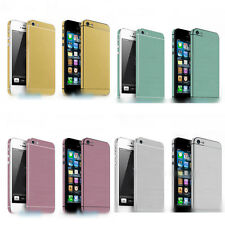 4 Colors Full Body Skin Sticker Chamfer Protector Wrap Cover Film for iPhone 5