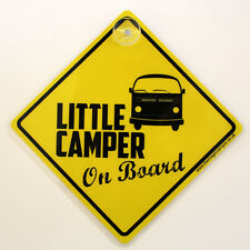 Baby on Board Signs - Ideal for Campers VW Camper/Caravan/Mazda Bongo, Yellow