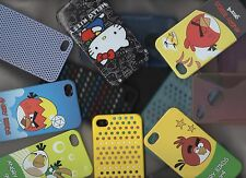 Apple iPhone 4 4S New Silicone Soft Skin Hard Cover Case Plastic Net Protector