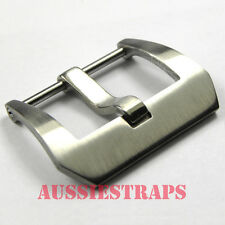 BRUSHED Screw In Pre-V BUCKLE Stainless Steel for Panerai watch strap band PREV