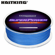 HOT SUPER POWER 100% PE DYNEEMA SPECTRA FISHING BRAID LINE 300M 10LB - 80LB