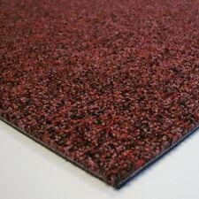 Diamond Contract CARPET TILES Damask Red Heavy Duty Hard Wearing Commercial Tile