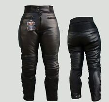 LT09 Sturgis Touring Motorcycle Sofest Comfort Leather Trousers Armoured Cowhide
