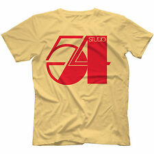 Studio 54 T-Shirt in 11 Colours RETRO DISCO PARADISE GARAGE CHICAGO HOUSE