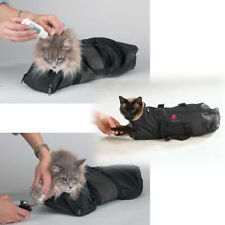 Pet Groomers CAT Bag Vet treatment kennel Grooming Bathing nail claw cutting