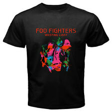 New FOO FIGHTERS *Wasting Light Rock Band Men's Black T-Shirt Size S to 3XL