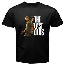 New THE LAST OF US Popular Action Video Game Men's Black T-Shirt Size S to 3XL