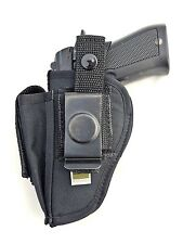 Ruger LC380 | Nylon OWB Open Carry Belt Gun Holster with Mag Pouch. MADE IN USA