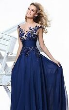 HOT Applique Evening Formal Prom Party Cocktail Dresses Wedding Gown
