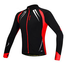 New Fleece Thermal Winter Cycling Bicycle Jacket Casual Coat Outdoor Bike Jersey