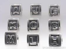Authentic Genuine Pandora Alphabet Charms A-Z Various Letters 790323