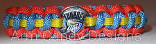 NBA Team Paracord Survival Bracelet - Officially Licensed Metal Charm