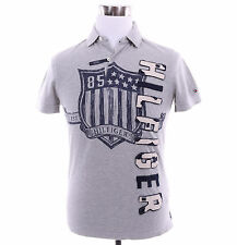 Tommy Hilfiger Men Short Sleeve Logo Custom Fit Rugby Polo Shirt - $0 Shipping