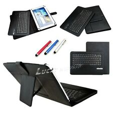 Universal Detachable Wireless Bluetooth Keyboard Case For 9-10.1 inch Tablet+Pen