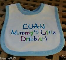 Personalised Baby Boy or Girl Bib, Toddler Gift, Dribble Bib, Unique Birth Gift