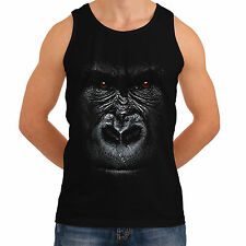 Wellcoda | NEW Gorilla Animal Big Ape Men Women Face Monkey S-2XL Tank Top *h4