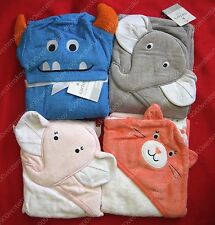 Carter's very cute Elephant cat / monster cotton hooded towel for baby / toddler