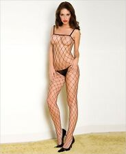 Net Body Stocking Black Red White Nude Pink Blue Sexy Underwear Lingerie P1924