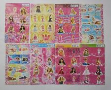 Barbie Stickers 4x6'' (10x15cm)