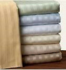 """400TC 1PC Fitted sheet 17""""Deep Pocket 100%Egyptian Cotton Choose Size & Color"""