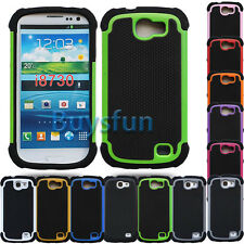New Anti-slip Rugged Rubber Hard Cover Case for Samsung Galaxy Express i8730
