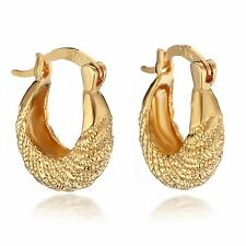 Gold Filled Jewelry Small Hugging Earrings CA067