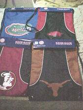 NCAA  TEAM BACK SACK NEW AND ON SALE, ASSORTED COLLEGE TEAMS