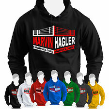 Marvelous Marvin Hagler HOODIE Boxing Legend Middleweight Champion Marvellous