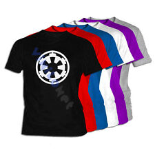Camiseta Imperio Star Wars Logo XXL- XL- L- M- S Film DVD Galaxia T-Shirt 01 Tee