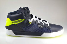 Mens New ADIDAS Attitude Vulc West  Navy Leather Trainers G45833