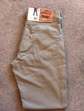 Men's Levi's 752 Regular Fit Beige Jeans **CHOOSE SIZE**