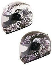 Scorpion Women's EXO-R410 Orchid Full Face Motorcycle Helmet (All Sizes)