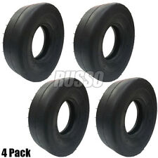 11x4x5 Front Caster Smooth Tire Wheel Commercial Walk Behind Lawn Mower 4 Ply