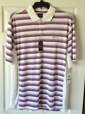 NWT $49 NEW MEN'S GREG NORMAN PLAY DRY POLO GOLF SHIRT EASY CARE UPF PROTECTION
