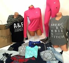 ABERCROMBIE & FITCH WHOLESALE LOT Dresses Hoodies Jeans Shorts Swim SweatersTops